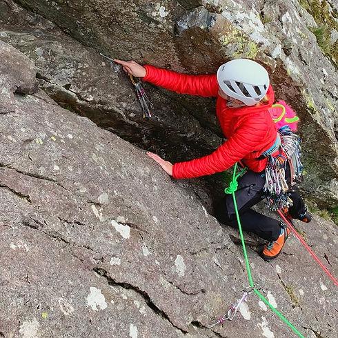 Lead Climb Coaching - Learn to Lead Climb