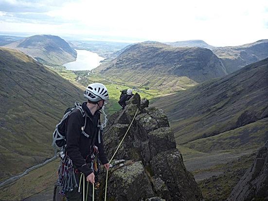 Needle Ridge The Napes Great Gable climbing