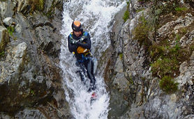Canyoning in Stoneycroft Ghyll