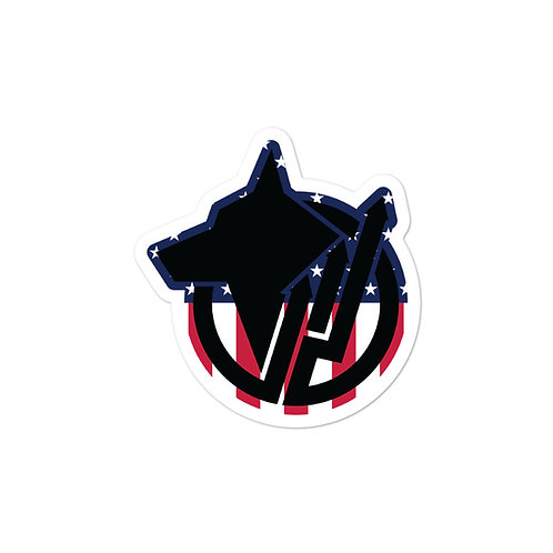 Peacemaker K9 Bubble-free Sticker