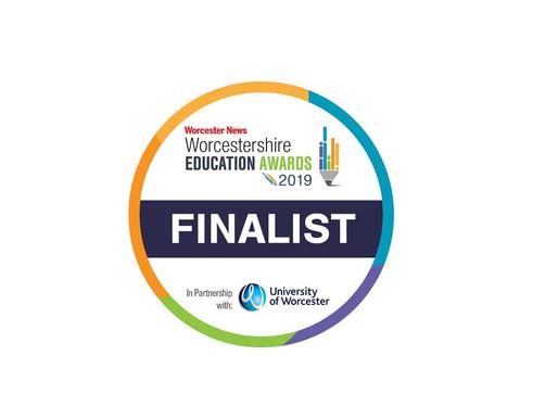 Worcestershire Education Awards Finalist