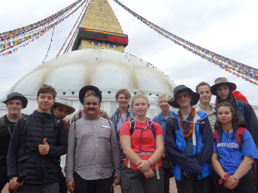 Pupil trip to Nepal