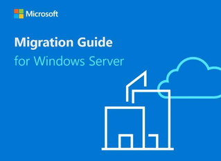 Migration guide for Windows Server
