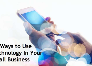 33 Ways to Use Technology In Your Small Business