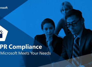 GDPR Compliance - How Microsoft and Computer Age Can Meets Your Needs