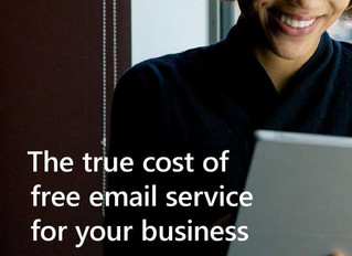 The True Cost of Free Email Service for Your Business