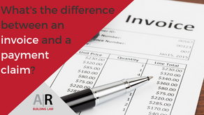 What is the difference between an invoice and a payment claim? Revisited