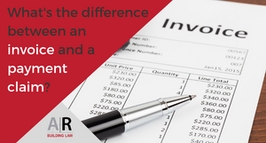 What is the difference between an invoice and a payment claim? - construction law, construction industry, BIF Act, security of payment, invoice, payment claim, progress claim - call us on 07 3128 0120 or email us on subcontractors@arbuildinglaw.com.au - www.subcontractors.arbuildinglaw.com.au
