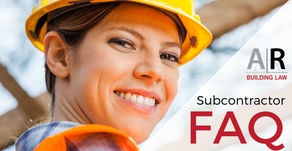 Can someone not pay me because they haven't been paid for the work? Subcontractor FAQ