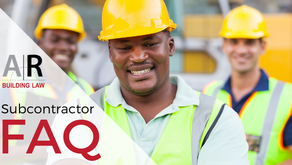 Do I really need to use a contract for domestic building work? Subcontractor FAQ