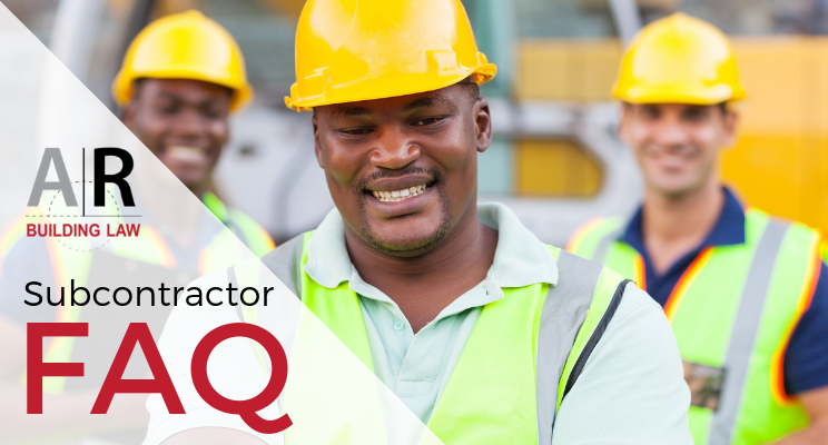 Subbies and Tradies - subcontractor FAQ, do i really need to use a contract for domestic building contract work, subbies get paid - call us on 07 3128 0120 or email at subcontractors@arbuildinglaw.com.au - www.subcontractors.arbuildinglaw.com.au