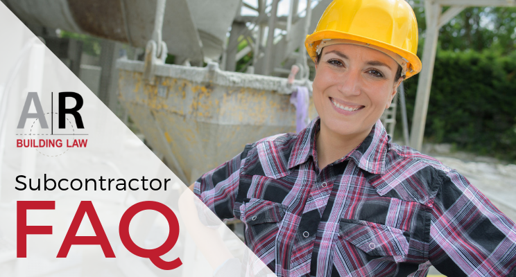 Subcontractor FAQ - If I dispute a claim I have received from one of my subbies, what should I do?