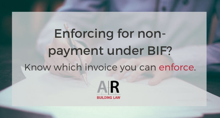 Subbies and Tradies - Are all invoices payment claims under the BIF Act? No, they are not - www.subcontractors.arbuildinglaw.com.au - Call us on on 07 3128 0120 or email us subcontractors@arbuildinglaw.com.au - Do our easy, video based online course to know what is a valid invoice and what isn't www.subbiesgetpaid.com.au