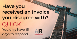 Have you received an invoice you disagree with?