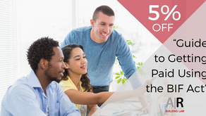 5% off our Guide to Getting Paid Using the BIF Act