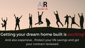 Getting your dream home built is exciting!