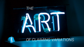 The Art of Claiming Variations