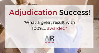 Subbies and Tradies - Adjudiation Application Pack from Aitchison Reid - Call us on 07 3128 0120 or email us at subcontractrs@arbuildinglaw.com.au - www.subcontractors.arbuildinglaw.com.au