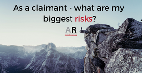 As a subcontractor claimant – what are my biggest risks?