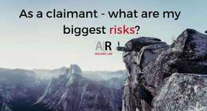 Security of Payment and BIF Act - subcontractors and trade contractors - as a claimant what are my biggest risks