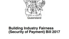 Five great things about the new Security of Payment Legislation for Subbies