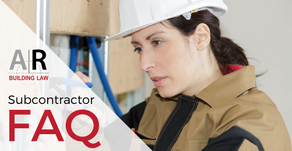 Do I need a contract if I enter a commercial contract over $10,000? Subcontractor FAQ