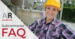 If I dispute a claim I have received from one of my subbies, what should I do? Subcontractor FAQ