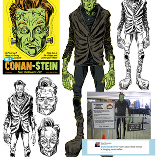 Conan-Stein cutout and face mask