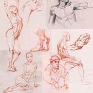 Life Drawing Samples