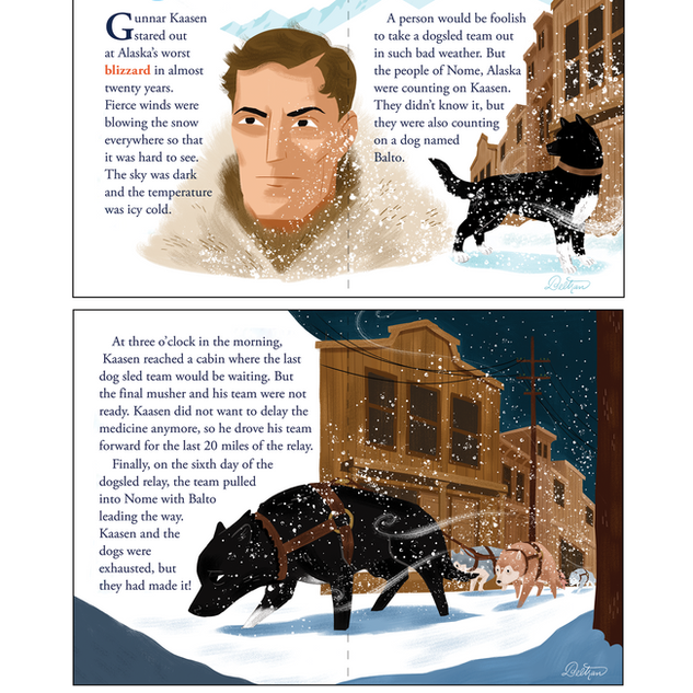 Balto story art