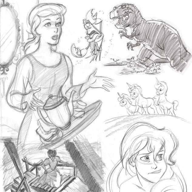 'Origins' Disney Store Apparel Collection