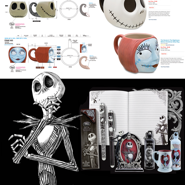Nightmare Before Christmas product