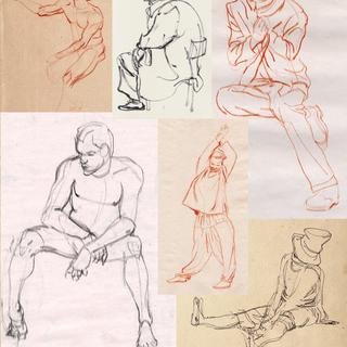 Life drawing Samples