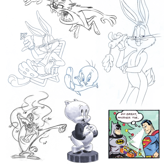 Warner Bros. Character Art