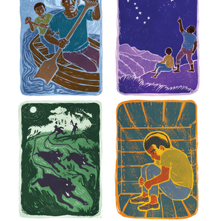 Underground Railroad story art