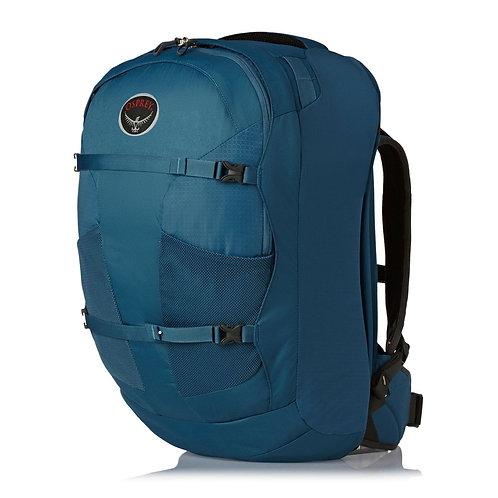 Osprey Farpoint 40 Luggage - Caribbean Blue Синий рюкзак унисекс.