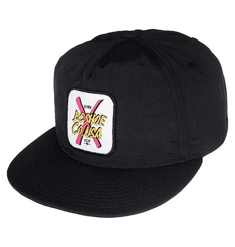 FAKE WEALTH M HATS DC Black Мужская черная  легкая кепка