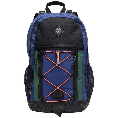 Мужской прочный и вместительный рюкзак ripstop синего цвета ELEMENT CYPRESS OUTWARD BPK-NAVAL BLUE