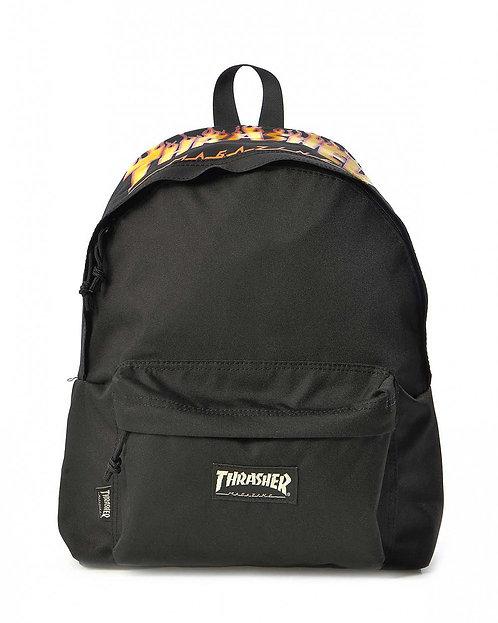 Thrasher Flame Logo Black-Унисекс рюкзак от известного журнала США
