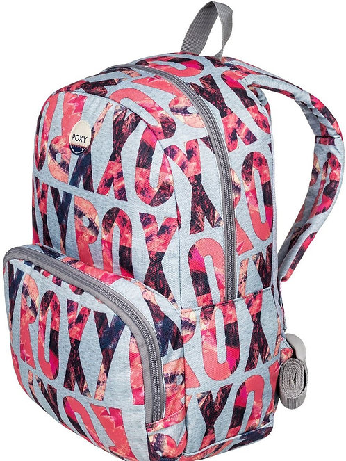 Детский рюкзачек розового цвета. Roxy Always Core grey/pink