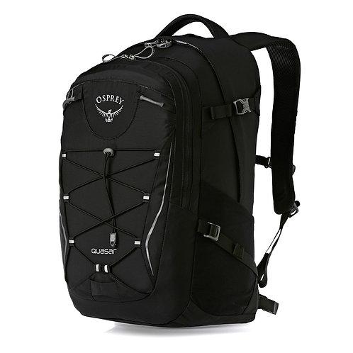 Osprey Quasar 28L Black Черный мужской рюкзак.