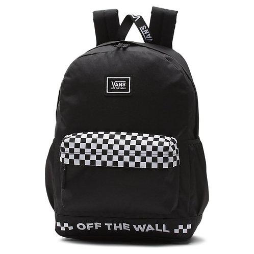 Vans SPORTY REALM PLUS Black  Большой женский рюкзак Vans