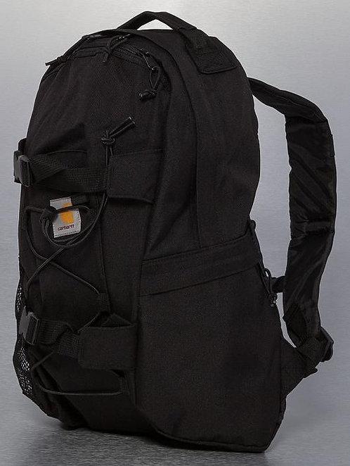 Carhartt Kickflip Black Мужской влагостойкий черный и прочный рюкзак