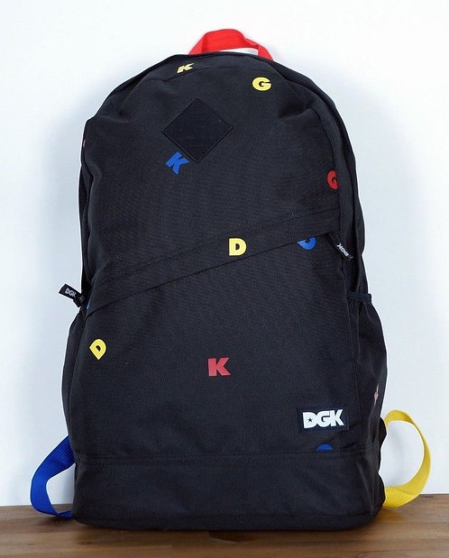 GK Skateboards Backpack Angle Deluxe Multi Dirty Ghetto Kids  Популярный бренд среди молодёжи США