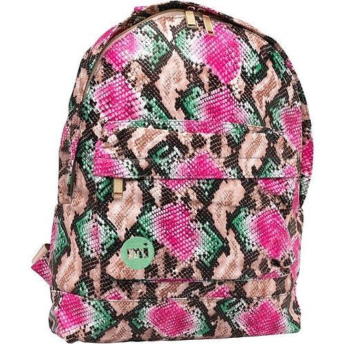 MI-PAC Pink Rattlesnake-Женский Британский рюкзак розовый питон