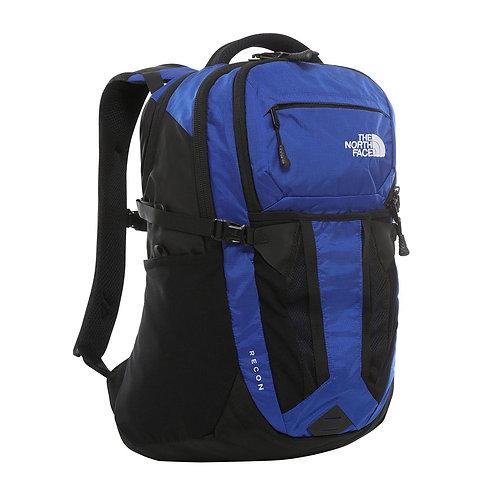 North Face Recon Tnf Blue Ripstop Tnf Black (Cordura). Синий мужской прочный рюкзак