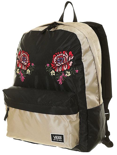 Vans Deana Festival Embroidery - Gold Shine - women´s Золотистый женский рюкзак Vans