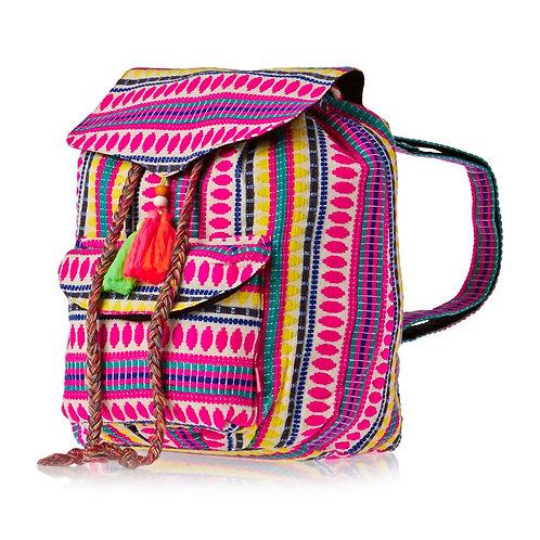 Seafolly Neon Girls Backpack Multi + Seafolly Hats Рюкзачек + шляпка для девушек с цветным контрастом!