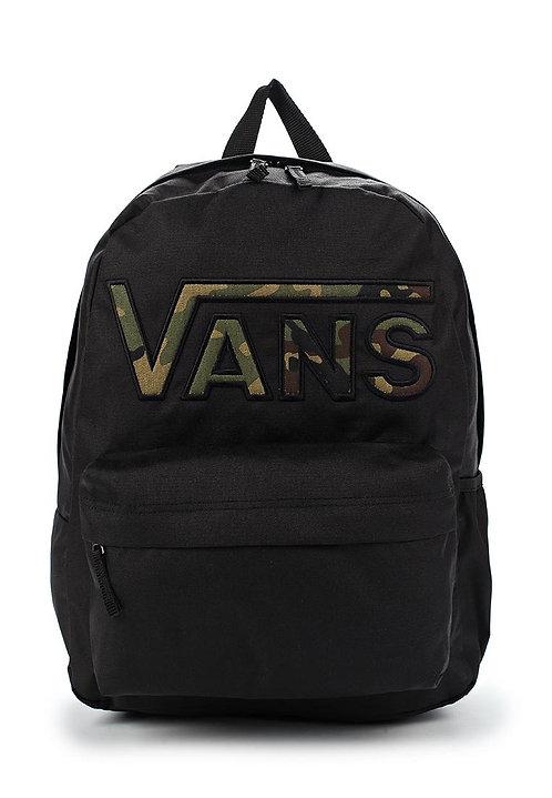 Vans Realm Flying V Black-camo Унисекс рюкзак Vans Black-camo