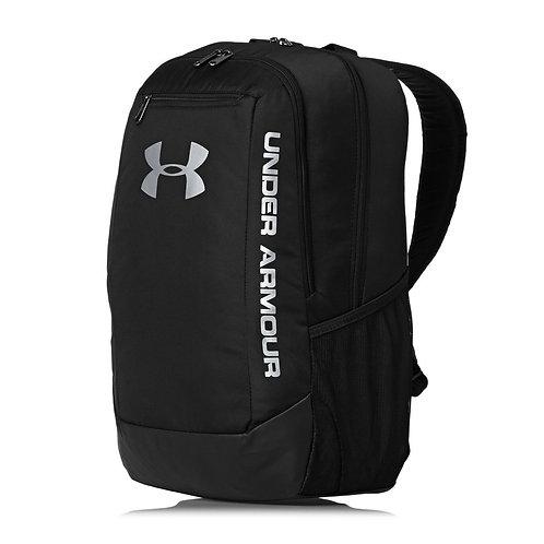Under Armour Hustle 29L Backpack Black Черный мужской не промокаемый рюкзак от Американского бренда.